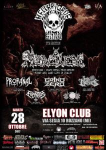 Hellbrigade 7th edition @ Elyon Club